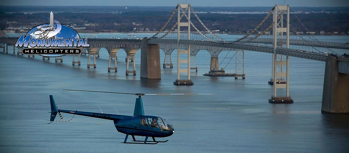 Monumental Helicopters Washington DC Baltimore and Annapolis Maryland