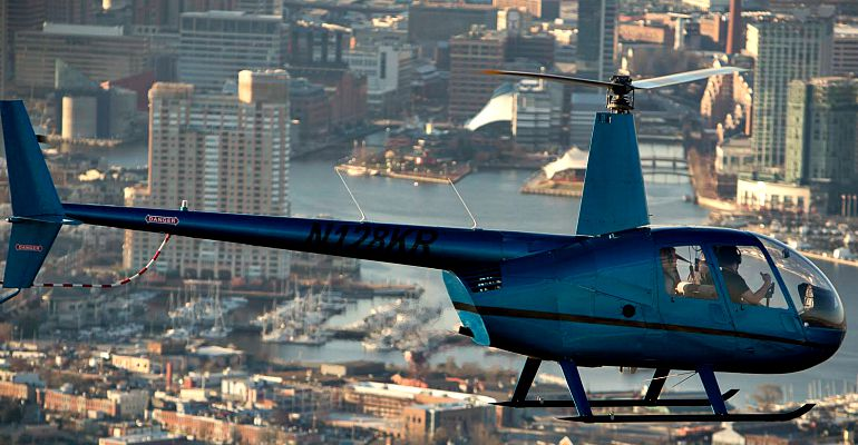 Baltimore Tours by helicopter - Monumental Helicopters. Serving Baltimore, Annapolis and Washington DC 410-491-4354