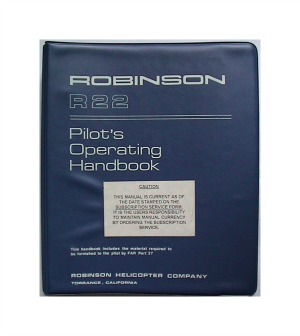 Robinson R22 and R44 Helicopter flight training