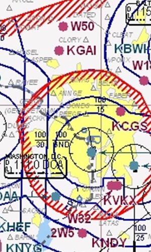 Washington DC Helicopter Airspace Rules